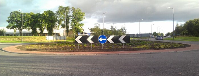 Greenyards Roundabout is one of Named Roundabouts in Central Scotland.