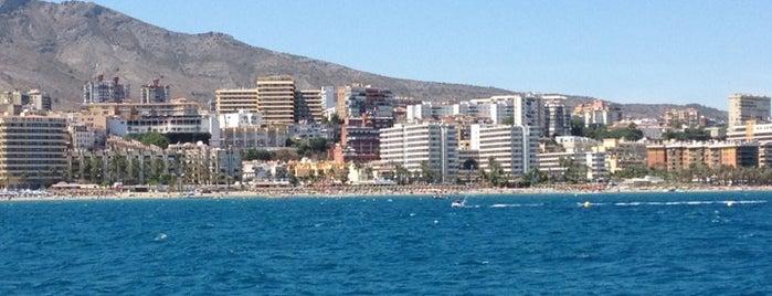 Torremolinos is one of Málaga.