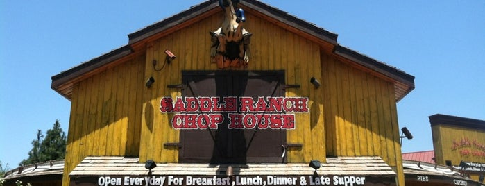 Saddle Ranch Chop House is one of Top 10 favorites places in Los Angeles, CA.