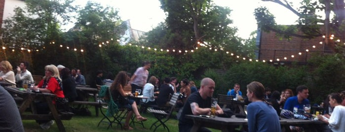 The White Hart is one of London's Best Beer Gardens.