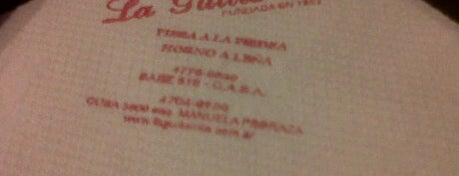 La Guitarrita is one of Pizzerias Notables - Buenos Aires.