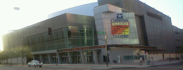 Comerica Theatre is one of Landmarks of Interest for J-Students.