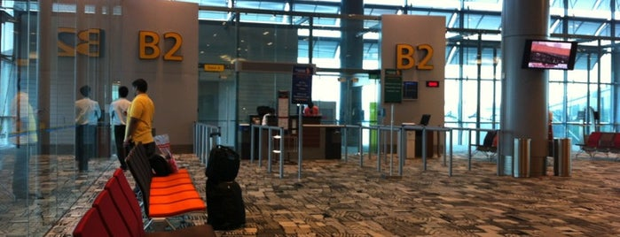 Gate B2 is one of SIN Airport Gates.