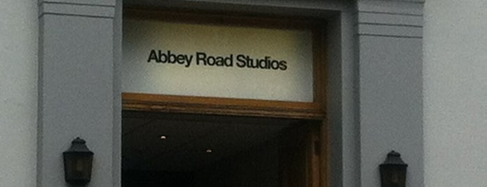Abbey Road Studios is one of My London.
