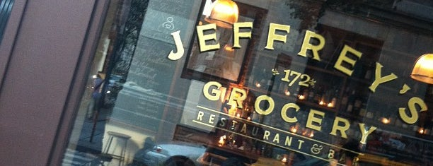 Jeffrey's Grocery is one of New York - General.
