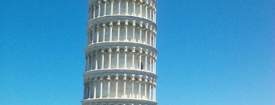 Tower of Pisa is one of Dream Destinations.