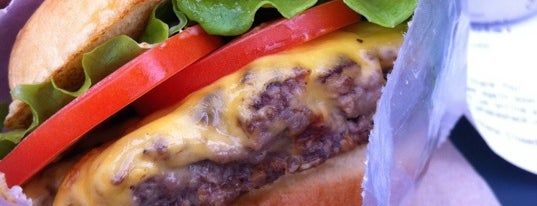 Shake Shack is one of All-Time Favorite Food Spots.