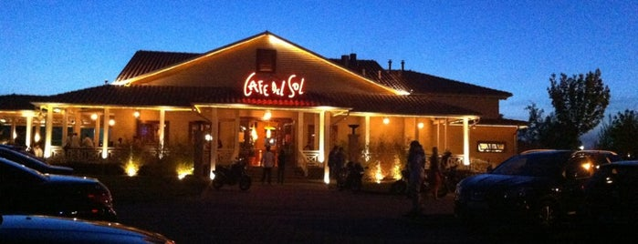 Cafe del Sol is one of Essen.