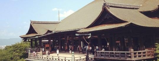 Kiyomizu-dera Temple is one of 旅.