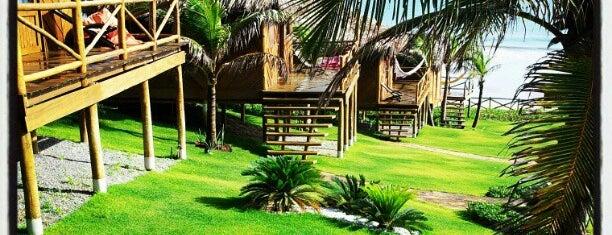 VillaMango Beach Bungalows is one of Pousadas de Charme no Ceará.