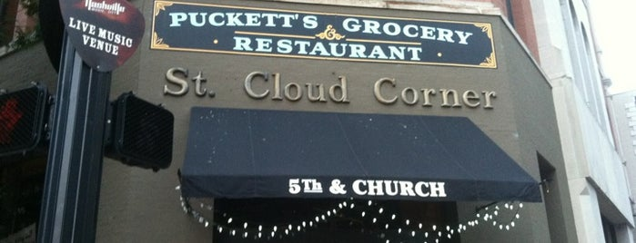 Puckett's Grocery & Restaurant is one of The 15 Best Places with Good Service in Nashville.