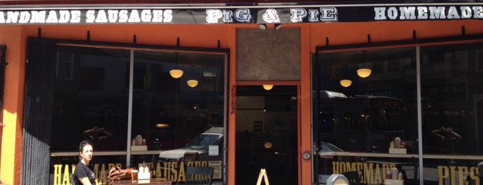 Pig & Pie is one of Potrero Hill/East Mission Stuffz.