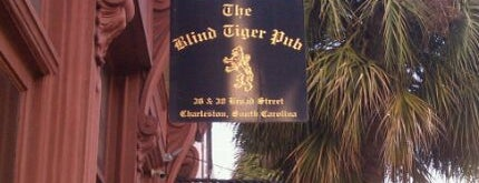 Blind Tiger Pub is one of Favorites in Charleston.