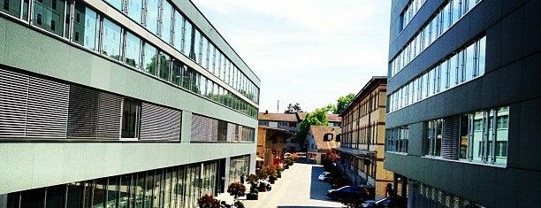 Google Zürich is one of Zurich.