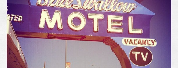 The Blue Swallow Motel is one of Best Places to Check out in United States Pt 3.