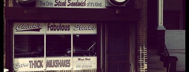 Joe's Steaks + Soda Shop is one of 10 Best Philly Cheesesteaks.