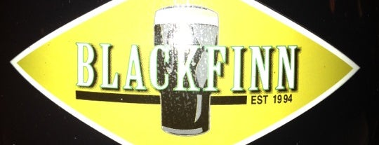 BlackFinn American Saloon is one of Official Blackhawks Bars.