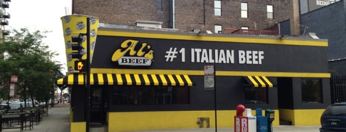 Al's Beef and Catering on Adams is one of Explore Chicago West Loop.