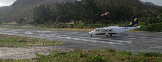 Gustaf III Airport (SBH) is one of Caribbean Airports.