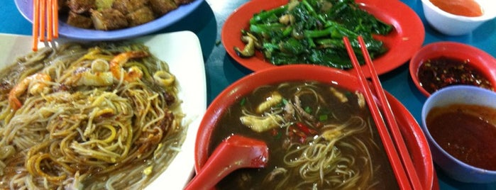 Kaki Bukit 511 Market & Food Centre is one of Favourite.