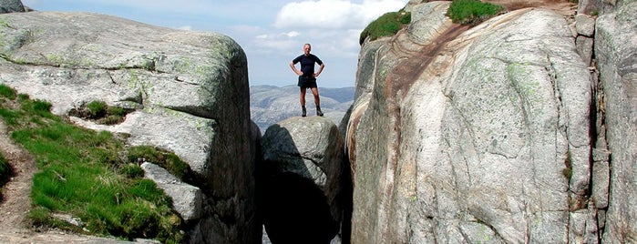 Kjeragbolten is one of Dream Destinations.