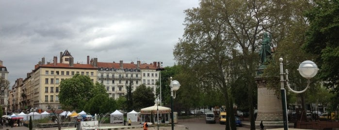 Place Carnot is one of Hip to Be Square!.