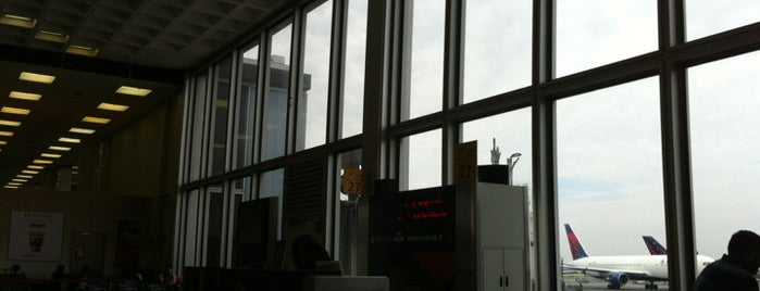 Gate 27 is one of AIRPORTS world.