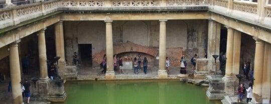 The Roman Baths is one of England 1991.