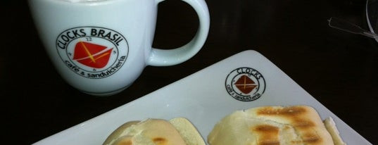 Clocks Café & Sanduicheria is one of Senhas wifi Curitiba.