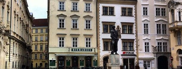 Judenplatz is one of StorefrontSticker #4sqCities: Vienna.