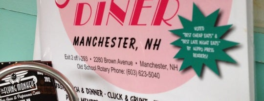 Airport Diner is one of Restaurants visited.