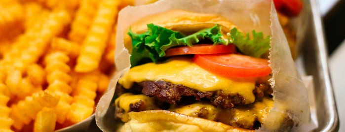 Shake Shack is one of D.C.'s Most Mouthwatering Burgers.