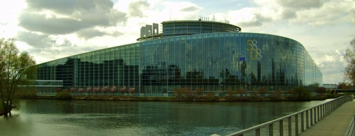 Parlement Européen is one of Strasbourg.