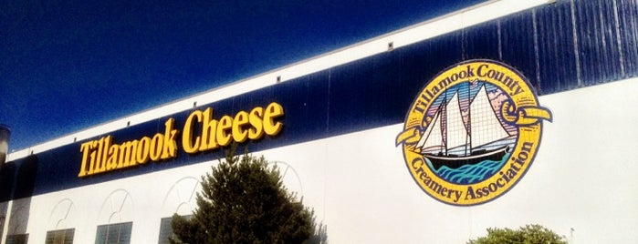 Tillamook Cheese Factory is one of Oregon.