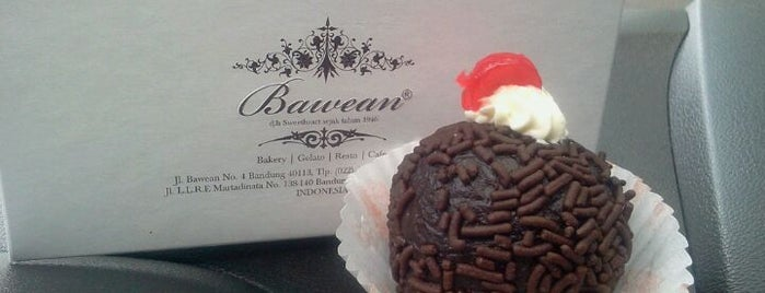 Bawean (Sweetheart) is one of The 15 Best Places for Desserts in Bandung.
