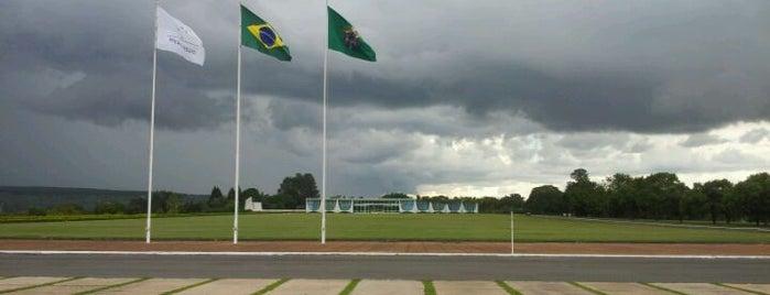 Alvorada Palace is one of Brasília.