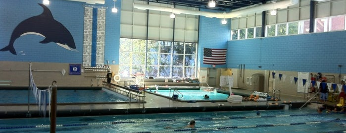 Brookline Swimming Pool is one of Nearby Neighborhoods: Brookline Village.