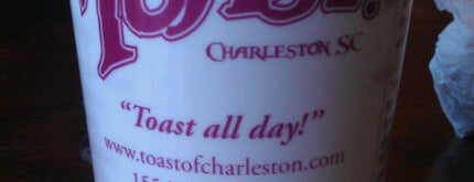 Toast Restaurant is one of Charleston's Top Social Spots.