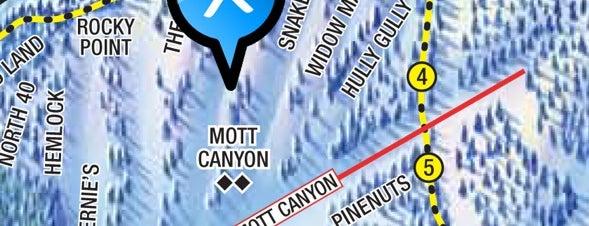 Mott Canyon Lift is one of Heavenly Stash Tips.