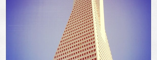 Transamerica Pyramid is one of San Francisco - May 2017.