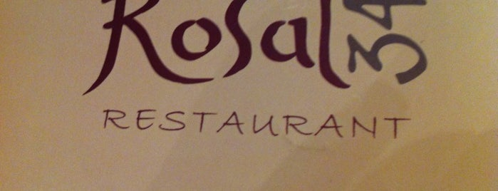 Rosal 34 is one of Restaurantes por probar en Barcelona.