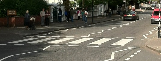 Abbey Road Crossing is one of Hand Drawn Map of London.
