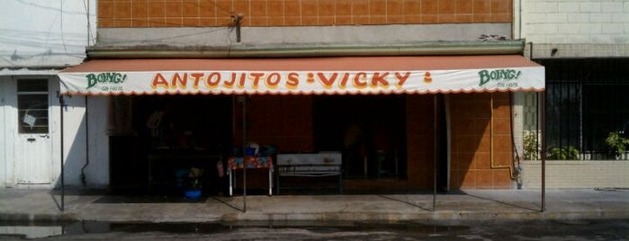 Antojitos Vicky is one of YA FUI PUEBLA.
