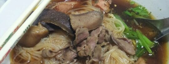 Rote Yiam Beef Noodle is one of Greater Chiang Mai.