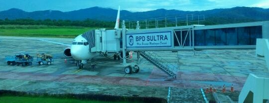 Haluoleo Airport (KDI) is one of Indonesia's Airport - 1st List..