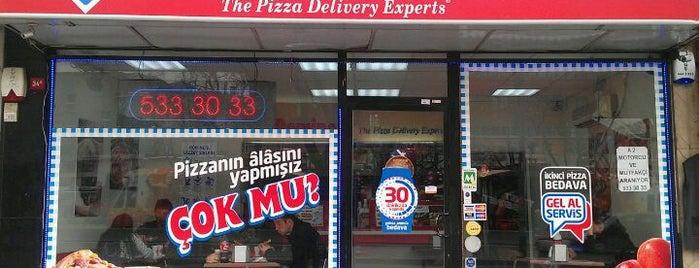 Domino's Pizza is one of Temmuz 7 2017.