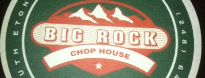 Big Rock Chop House is one of Michigan Breweries.