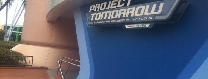 Project Tomorrow is one of Walt Disney World - Epcot.