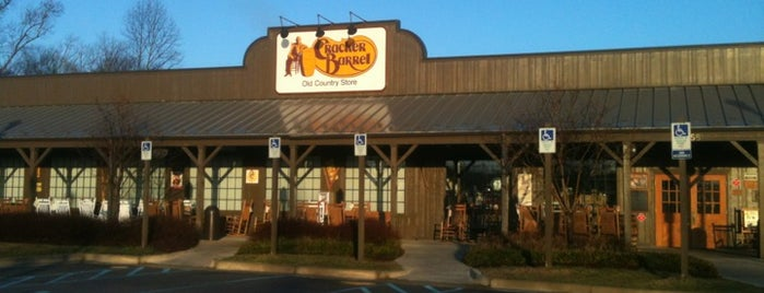 Cracker Barrel Old Country Store is one of Eateries.