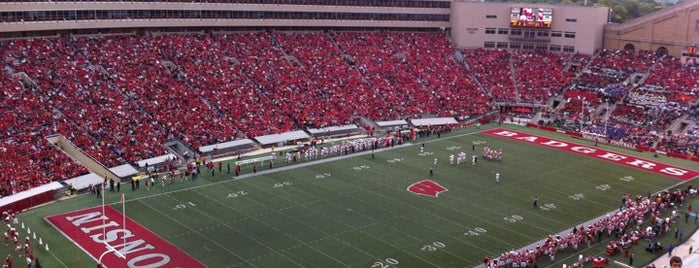 Camp Randall Stadium is one of B1G Stadiums.